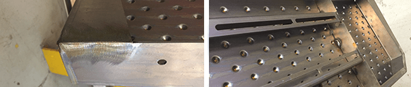 Welded Tread Plate Step