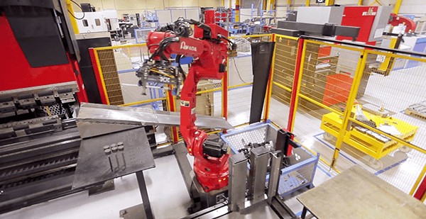 Amada Astro Robotic Folding