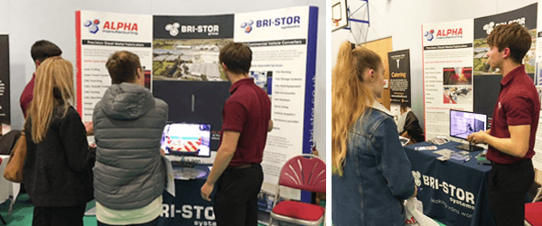 Discussing the Bri-Stor Group Apprenticeship programme