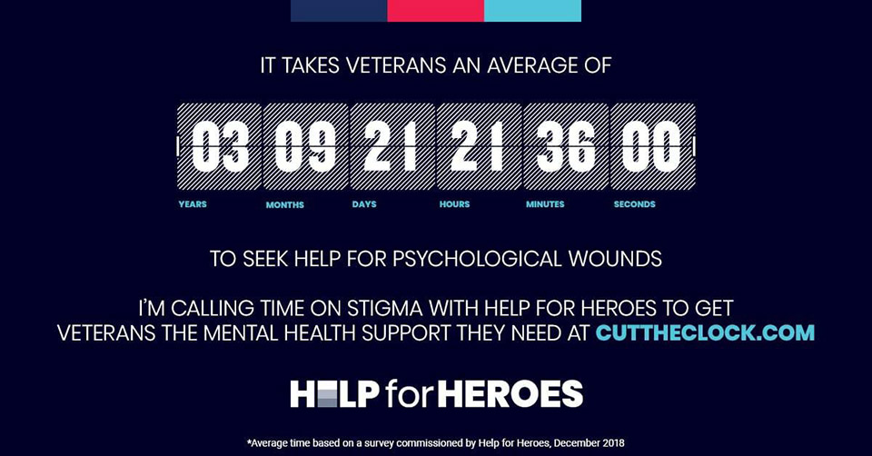 Help for Heroes - Call Time on Stigma