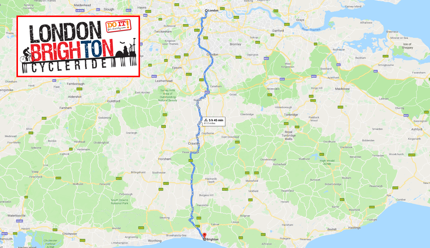 Bri Stor Group Employees To Cycle London To Brighton For