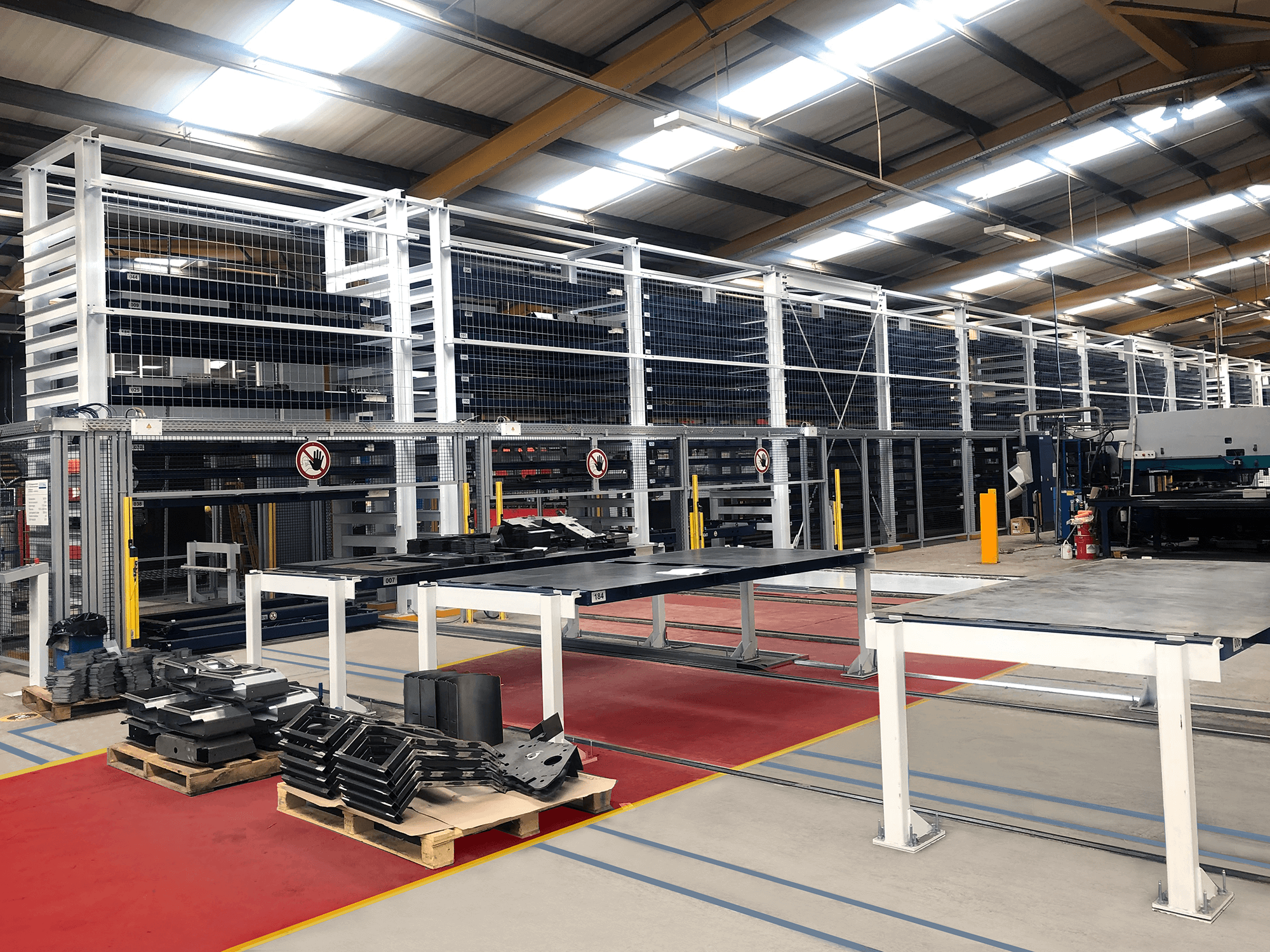 STOPA Automated Sheet Metal Storage Machinery