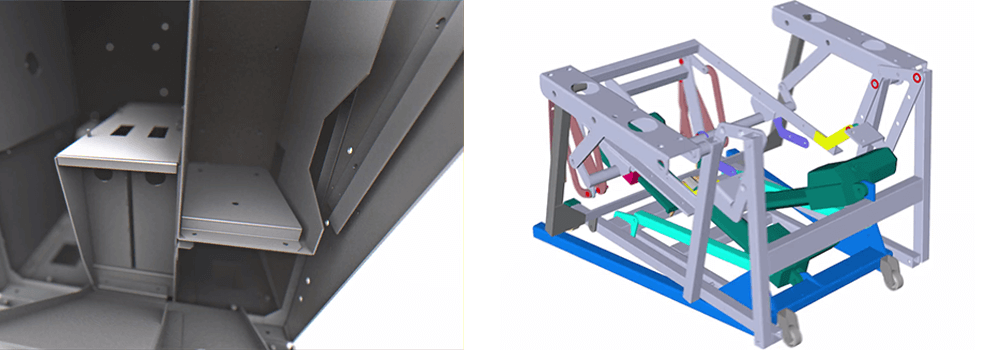 Sheet Metal fabrication Design CAD Models