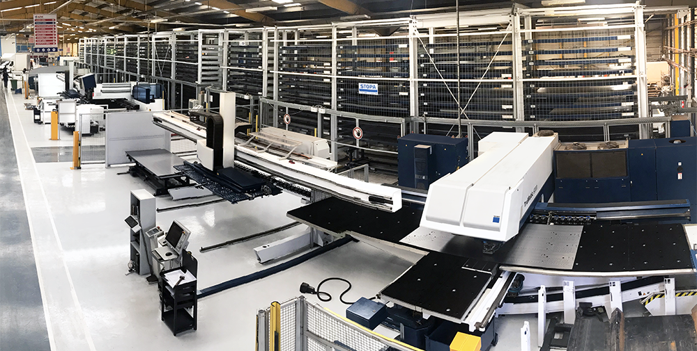 STOPA Automated Sheet Metal Storage System