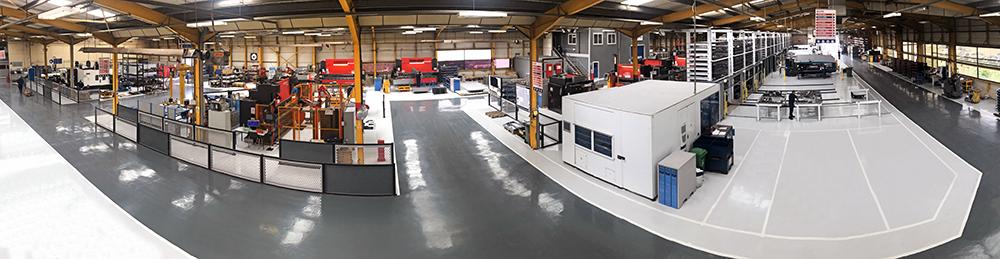 Alpha Manufacturing Sheet Metal Fabrication Factory 2020