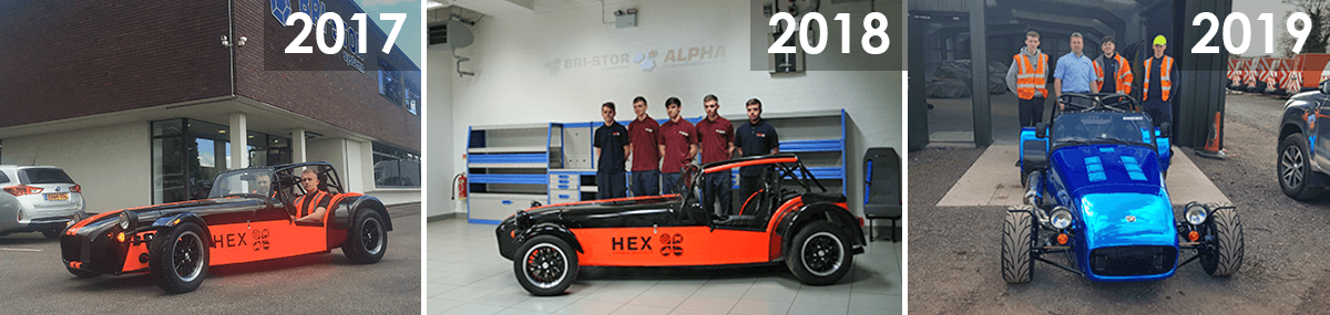 Alpha Apprentice Caterham Prjoects