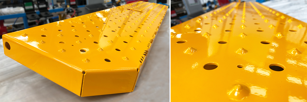 Commercial vehicle Tread Plate Step