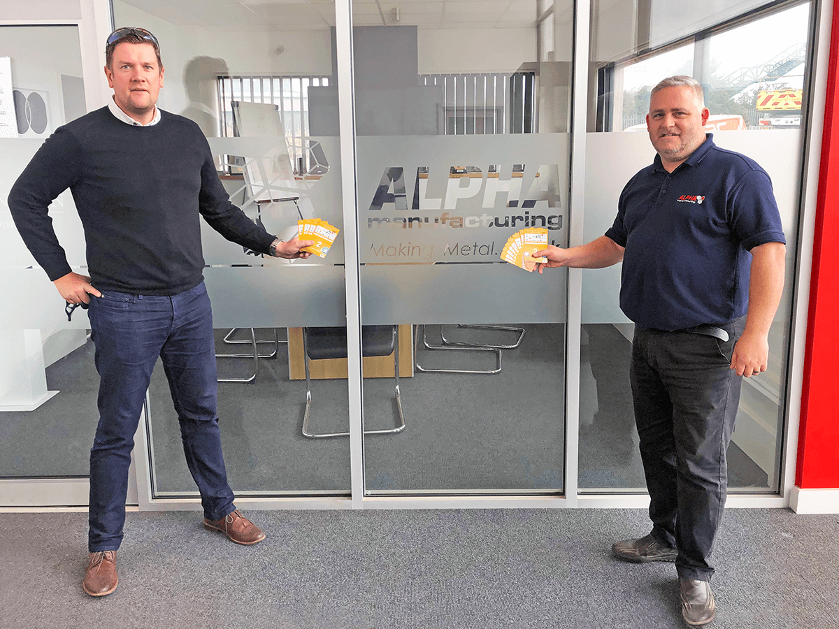Alpha Quality Manager Ben Austin Celebrates 20 Years with Alpha
