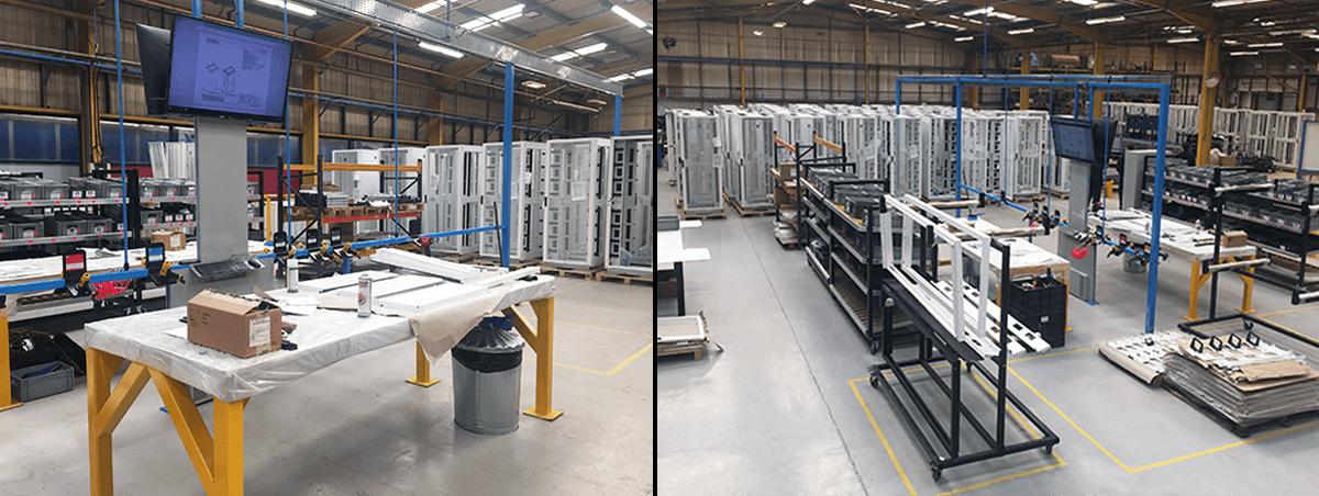 Alpha reach production milestone with key customer