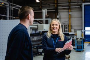 Gemma Smith - Production Engineer and Higher Apprentice